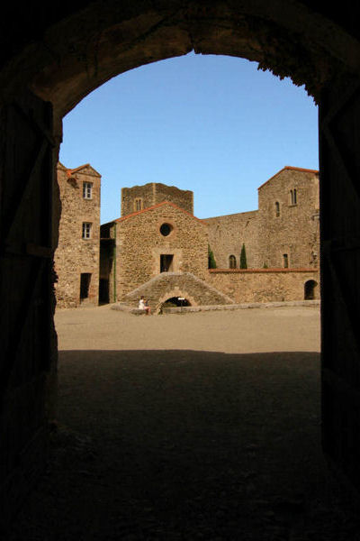 the royal castle of Collioure